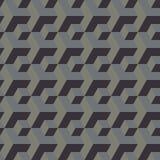 Hintergrund von verschiedenen Größen der dreidimensionalen Würfel Stockbild