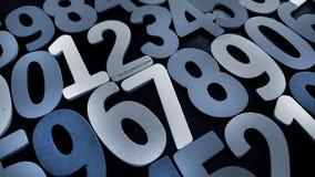 Hintergrund von Zahlen von null bis neun Hintergrund mit Zahlen Zahlbeschaffenheit Lizenzfreie Stockfotos