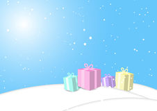 Hintergrund, Weihnachten, Vektor lizenzfreie abbildung