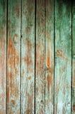 Hintergrund, welche aus alten hölzernen Brettern mit Spuren der Schalenfarbe besteht Stockfoto