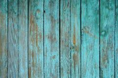 Hintergrund, welche aus alten hölzernen Brettern mit Spuren der Schalenfarbe besteht Stockbilder