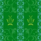 Hintergrundabstraktionstapeten-Grafikvektor des Musters grüner Lizenzfreie Stockfotos