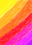 Hintergrundaquarellgelb zum Purpur Lizenzfreie Stockfotografie