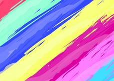 Hintergrundbürstenfarbenbeschaffenheitsdesign-Acryl strok der Kunst abstraktes Stockbilder