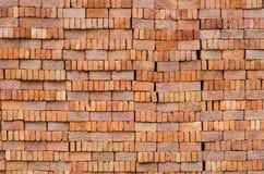 Hintergrundbacksteinmauer Lizenzfreies Stockfoto