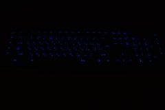 Hintergrundbeleuchtete Tastaturkürzeln Lizenzfreie Stockfotos