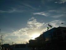 Hintergrundbeleuchtung Lizenzfreies Stockbild