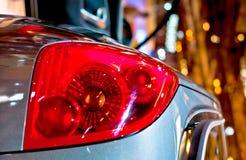 Hintergrundbeleuchtung eines modernen Autos Lizenzfreies Stockfoto