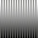 Hintergrundbeschaffenheit der Punkte mit einer Steigung in Schwarzweiss Stilvolle Vektor-Illustration für Webdesign stock abbildung
