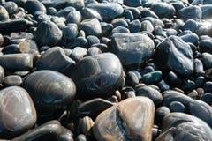 Hintergrundbeschaffenheit der Steinwand Stockfotografie