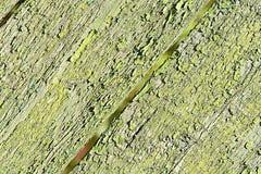 Hintergrundbeschaffenheit des alten rustikalen verwitterten Schmutzes knackte Holz Stockfoto