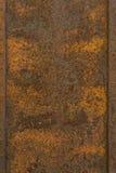 Hintergrundbeschaffenheit des rostigen orange braunen Rosts alte Metall Stockbilder