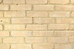 Hintergrundbeschaffenheit des weißen Ziegelsteines Stockfoto