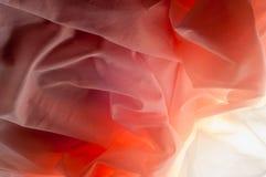 Hintergrundbeschaffenheit, Dusty Rose Diamond Nylon Net Tulle Addieren Sie volu Stockfoto