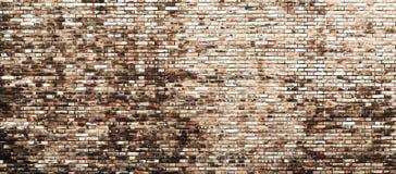 Hintergrundbeschaffenheit einer alten Backsteinmauer Stockfotos