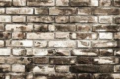 Hintergrundbeschaffenheit einer alten Backsteinmauer Lizenzfreies Stockbild