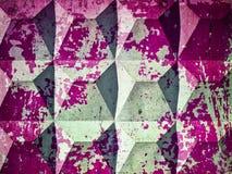 Hintergrundbeschaffenheit einer Betonplatte bedeckt mit Resten von Burgunder-Farbe vektor abbildung