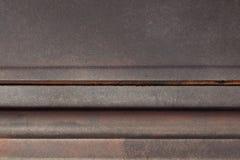 Hintergrundbeschaffenheit metallisch mit roter höllischer Farbe und Kopienraum Lizenzfreie Stockfotos