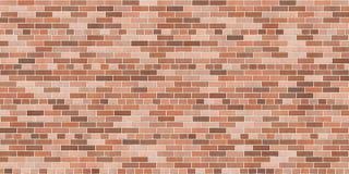 Hintergrundbeschaffenheit mit brauner Backsteinmauer Lizenzfreie Stockfotos