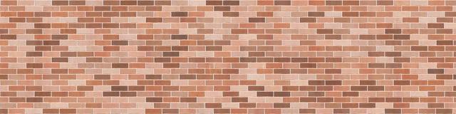Hintergrundbeschaffenheit mit brauner Backsteinmauer Stockfotografie
