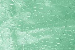 Hintergrundbeschaffenheit, Muster grünes Tulle Addieren Sie eine antike Note t Lizenzfreie Stockfotos
