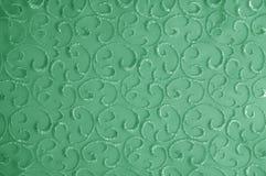Hintergrundbeschaffenheit, Muster grünes Tulle Addieren Sie eine antike Note t Lizenzfreie Stockbilder