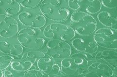 Hintergrundbeschaffenheit, Muster grünes Tulle Addieren Sie eine antike Note t Stockfoto
