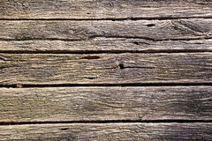 Alte hölzerne Planken Stockfotografie