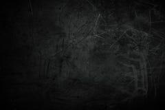 Hintergrundbeschaffenheit/-weinlese des Schmutzes maserten rote Wand in der Dunkelheit Lizenzfreies Stockbild
