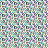 Hintergrundbeschaffenheitsmuster von Edelsteinen von d Stockfotografie