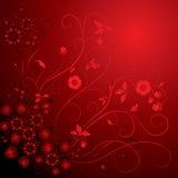 Hintergrundblume, Elemente für Auslegung, Vektor Lizenzfreies Stockfoto