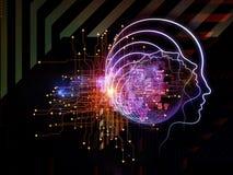 Fortschritt des Bewusstseins Stockfotos