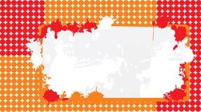 Hintergrundfahne von den Kreisen Stockfotografie