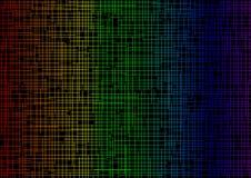 Hintergrundfarbe in den schneidenen Streifen Lizenzfreies Stockbild