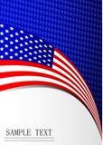 Hintergrundflaggenpapier Stockfotos