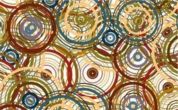 Hintergrundkonzept des farbigen Kreises Stockbild