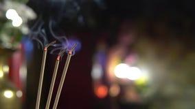 Hintergrundkonzept des Tempels des Porzellans 4K rotes für glücklichen Darstellungshintergrund des Chinesischen Neujahrsfests 201 stock video