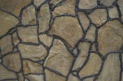 Hintergrundmaurerarbeit des Natursteins Stockfoto