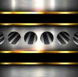 Hintergrundmetallbeschaffenheit Stockbilder