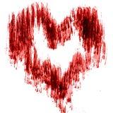Hintergrundmusterherzens des Aquarells Liebes-Valentinsgrußtagesnasse Wäsche des abstrakten verwischte weiße schwarze Dekorations Stockbilder