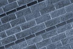 Hintergrundneigungsmusters des Rechtecks der Segeltuchgranitsteinsegeltuchfliese unbegrenzte Reihe des grauen harten ungleichen lizenzfreie stockfotografie