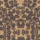 Hintergrundpelz-Leoparddruck Lizenzfreies Stockfoto