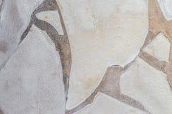 Hintergrundphotographie einer Steinwand im Beton lizenzfreie stockfotos