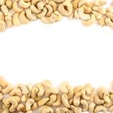 Hintergrundrahmen gemacht von den Erdnüssen lizenzfreies stockfoto