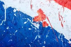 Hintergrundsammlung - Flecken und Flecke der Farbe Stockbild