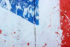 Hintergrundsammlung - Flecken und Flecke der Farbe Stockfotos