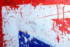 Hintergrundsammlung - Flecken und Flecke der Farbe Lizenzfreies Stockfoto