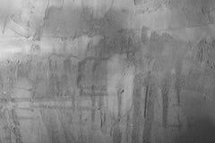 Hintergrundsammlung - graue Gipswand Stockfotografie