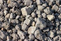 Hintergrundsammlung - raue Steinbeschaffenheit Stockfoto