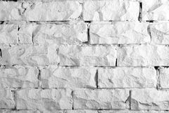 Hintergrundsammlung - weiße Backsteinmauer Lizenzfreie Stockfotos